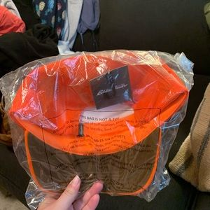 Eddie Bauer Accessories - NWT fluorescent orange Eddie Bauer hat